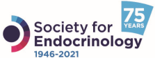 Society for Endocrinology 75 anniversary logo